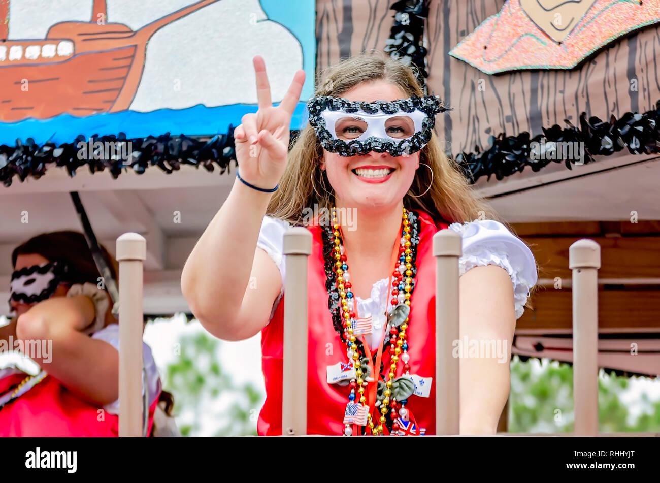 3696d4f13e0 Woman Wearing Mardi Gras Mask Stock Photos   Woman Wearing Mardi ...