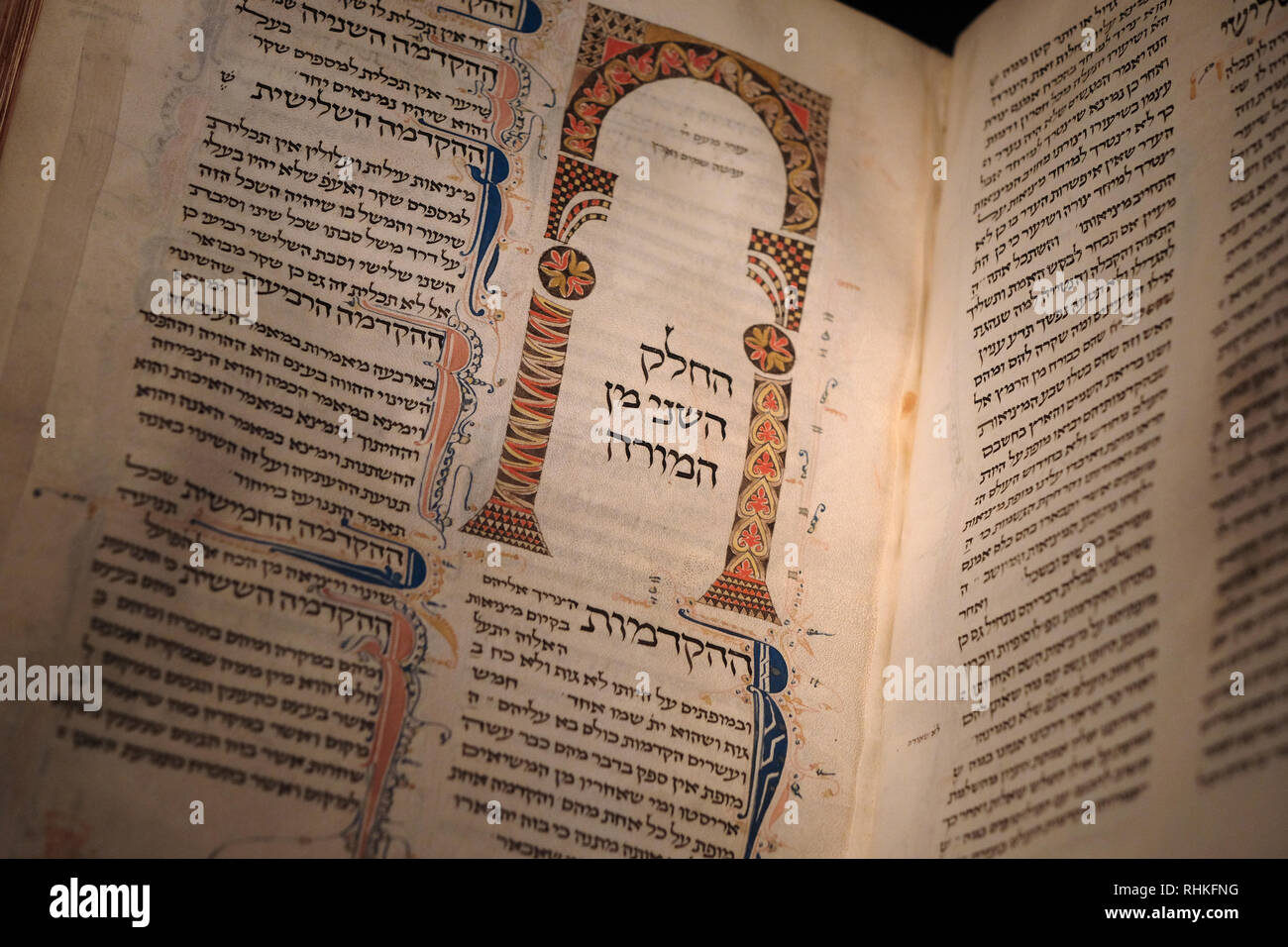 Jerusalem, Israel  2nd February, 2019  A medieval