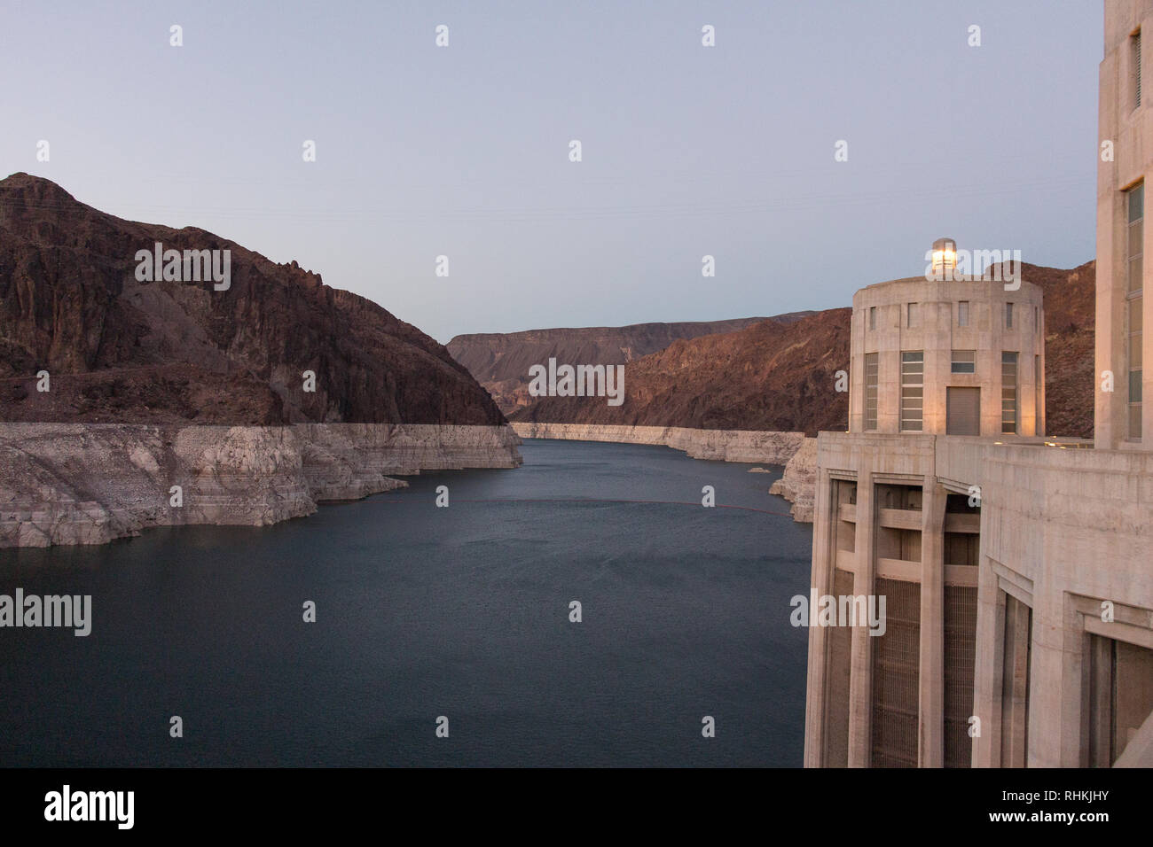 Hoover Dam, Nevada, Arizona, USA Stock Photo