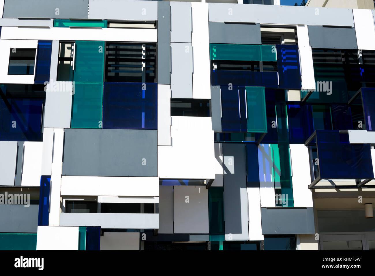 Urban Strategies building, Brisbane, Queensland, Australia - Stock Image