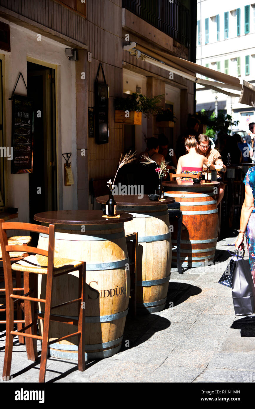 Cagliari Sardinia Italy Stock Photo