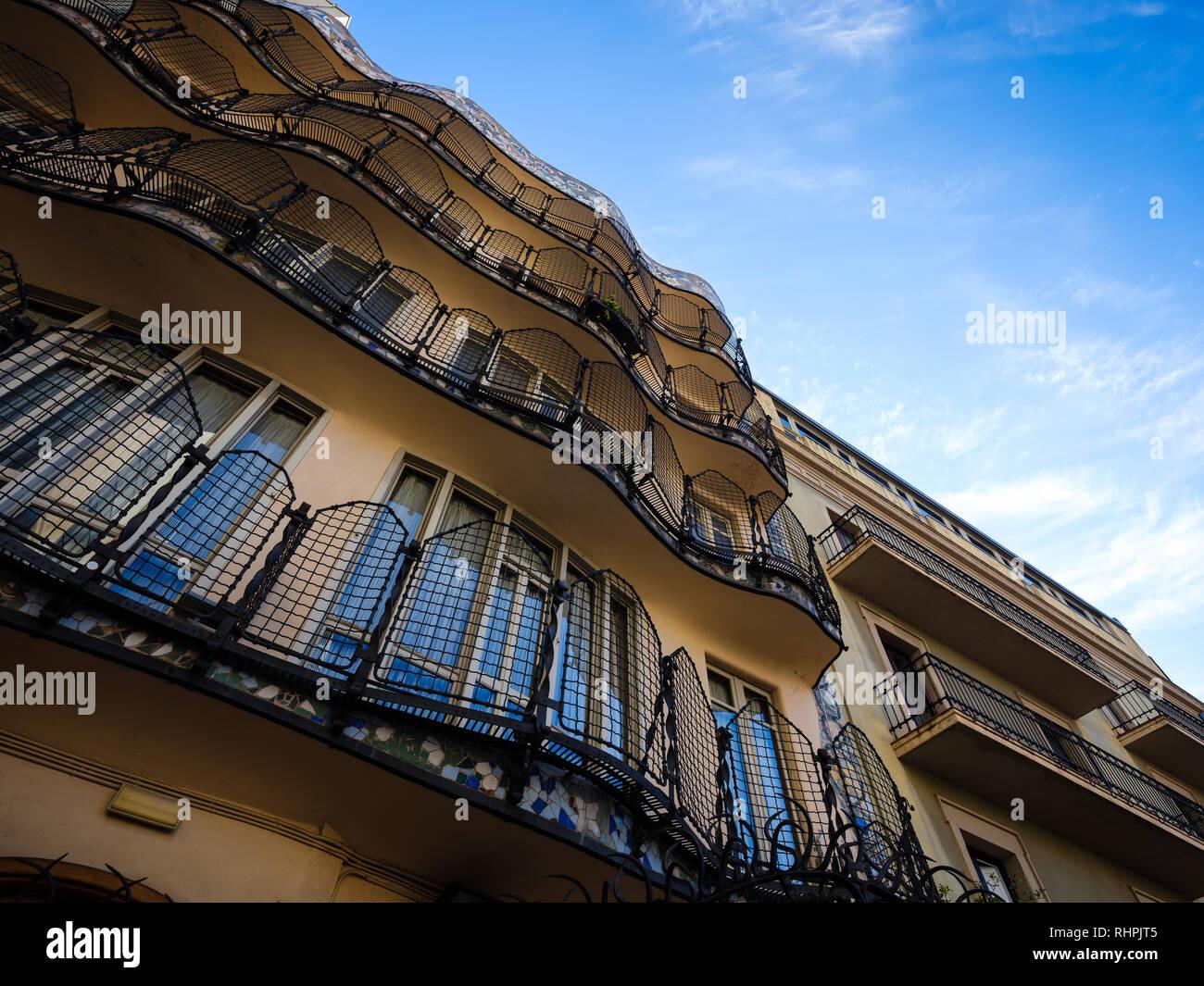 Barcelona Spain Circa May 2018 View Of Casa Batlló