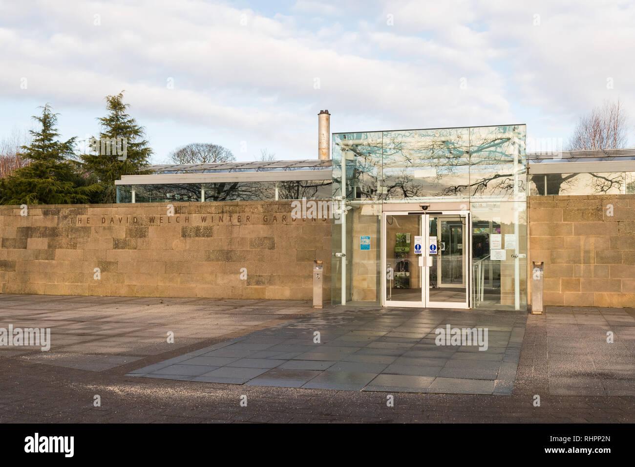 David Welch Winter Gardens, Duthie Park, Aberdeen, Scotland, UK - Stock Image