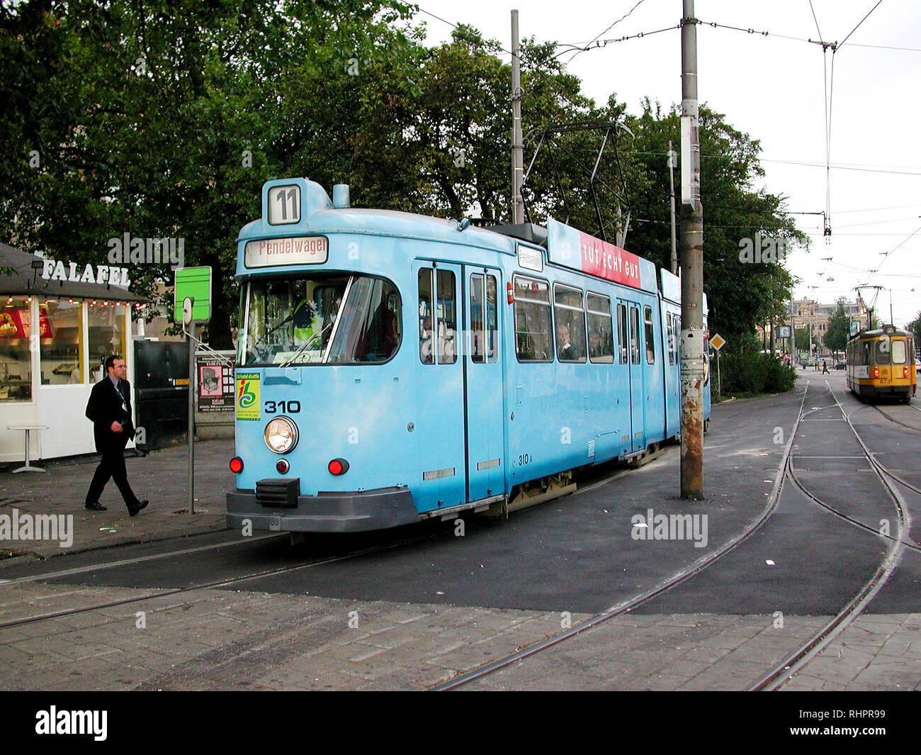 Kassel Vintage Tramcar in Amsterdam -2 Stock Photo