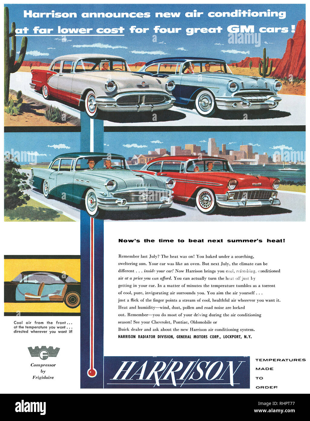 1950s General Motors Stock Photos & 1950s General Motors