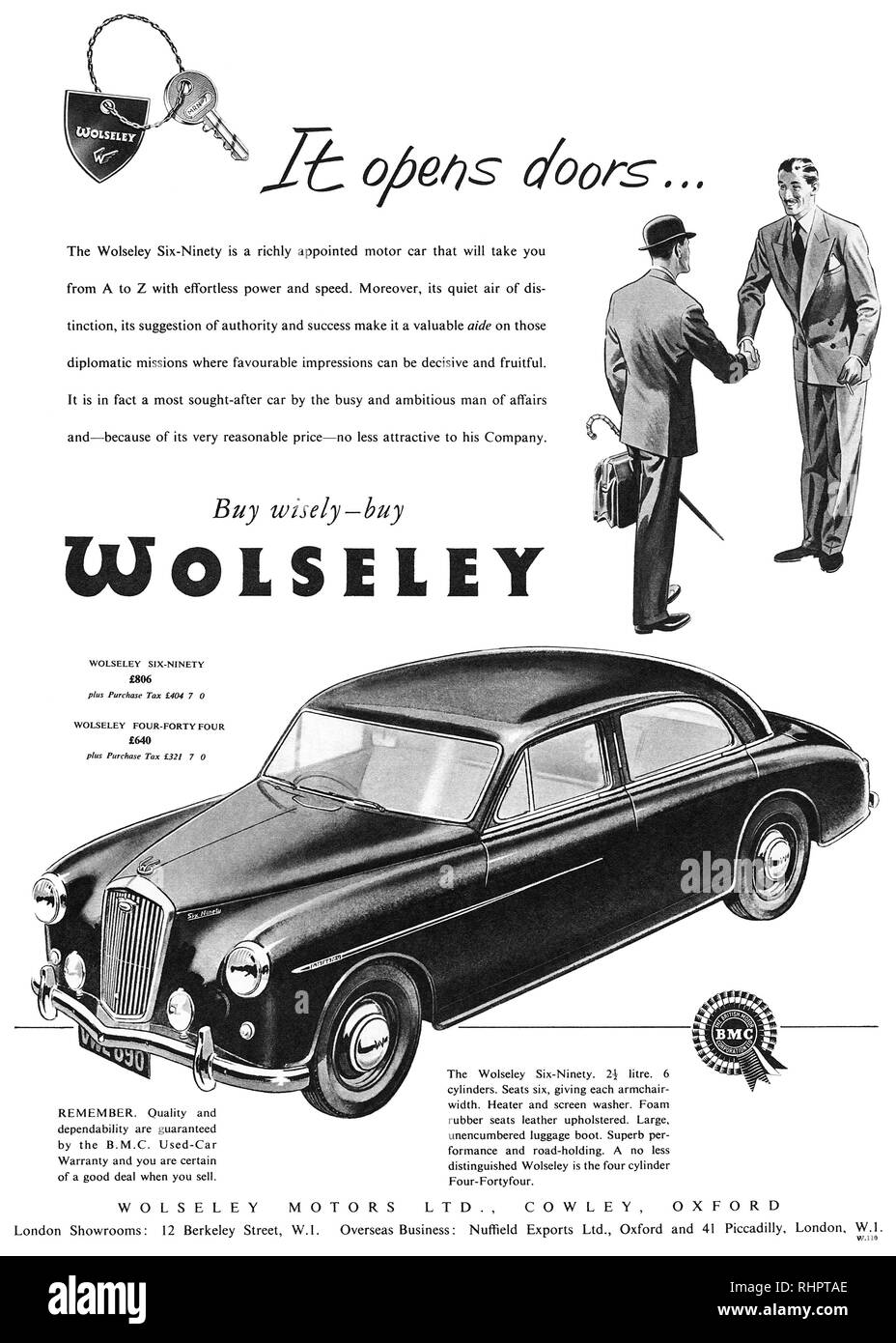 Vehicle Parts & Accessories Old Wolseley Car Badge Exquisite Craftsmanship;