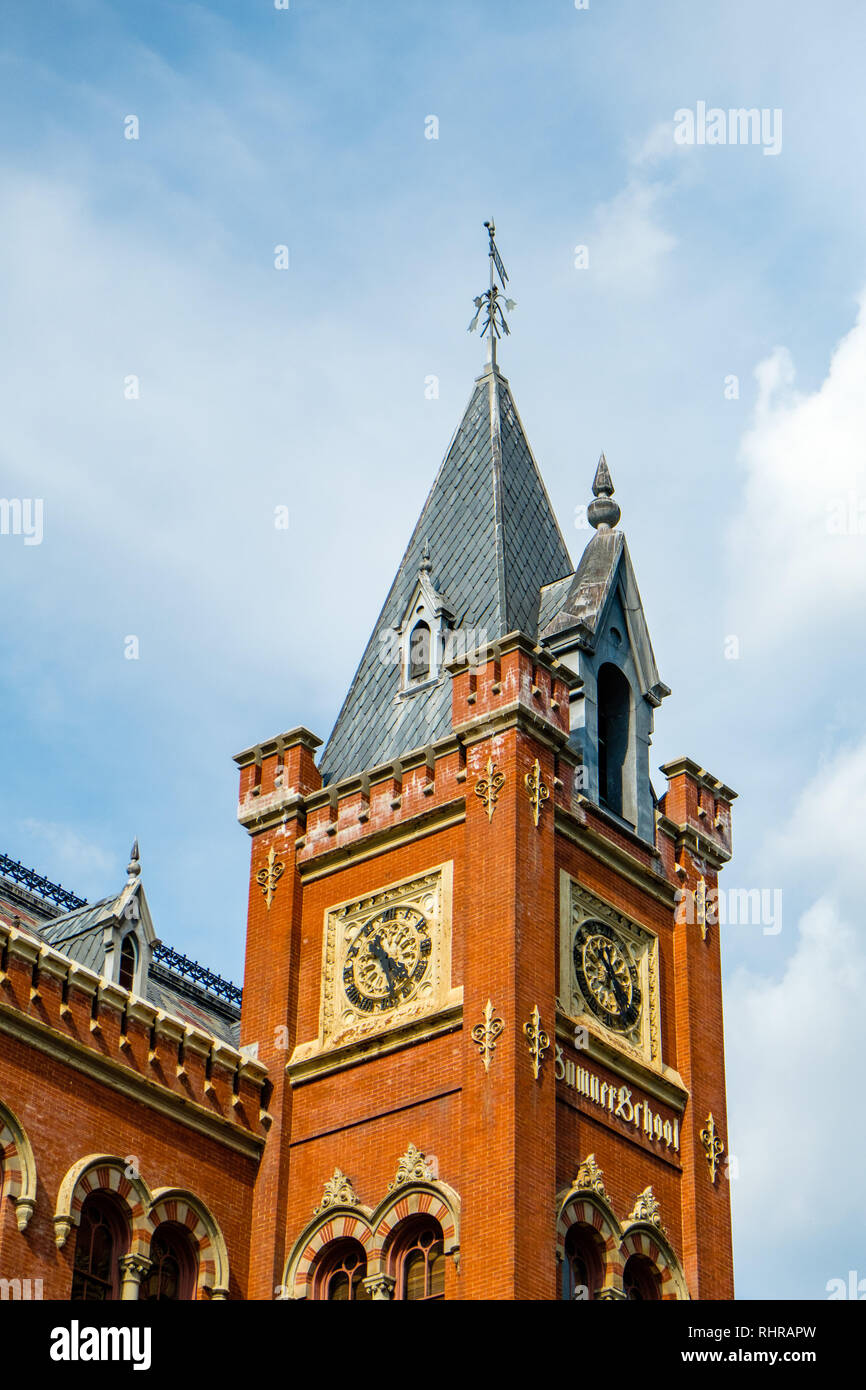 Charles Sumner School, 17th and M Streets NW, Washington DC - Stock Image