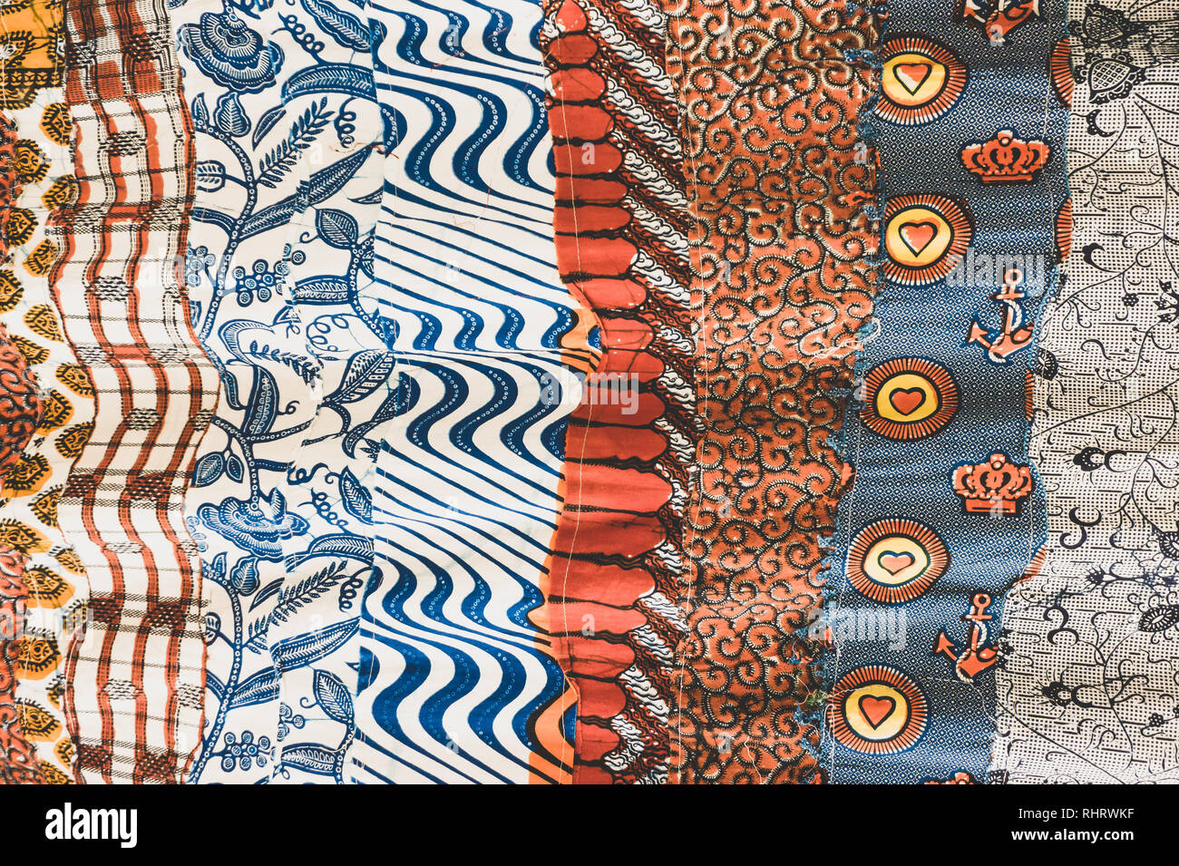 African Fabric Stock Photos & African Fabric Stock Images - Alamy