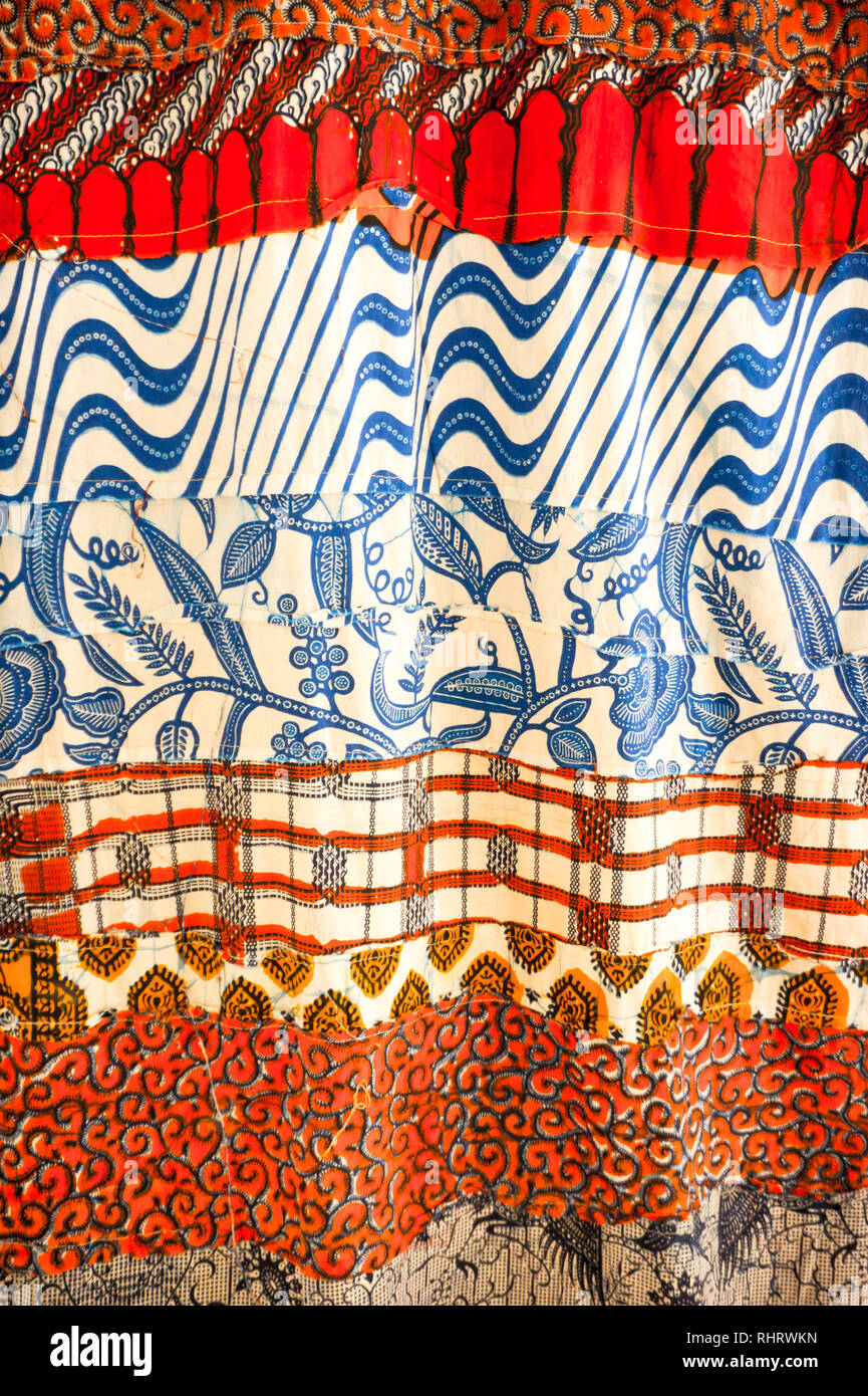 Close up of hand-made African fabric Stock Photo: 234708985 - Alamy