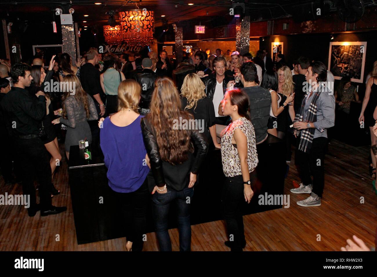 New York, USA. 05 Nov, 2011. Atmosphere at The Saturday, Nov 5, 2011 Grand Opening Of Rokk City Nightclub at Rokk City in New York, USA. Credit: Steve Mack/S.D. Mack Pictures/Alamy - Stock Image