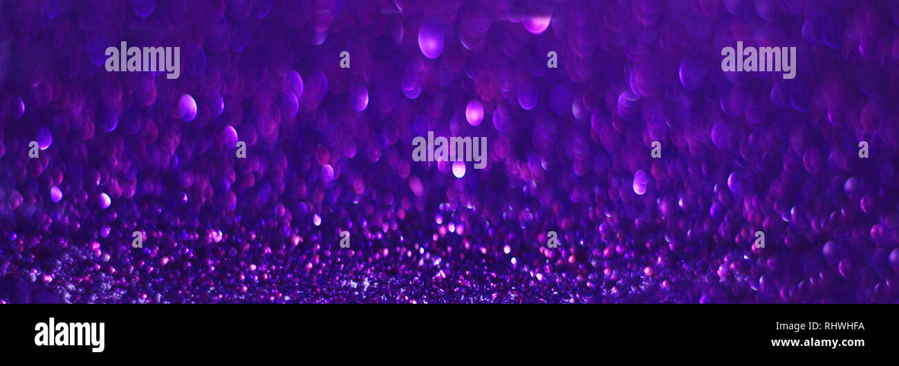 Close Up Of Purple Shiny Aesthetic Background Wallpaper Stock Photo