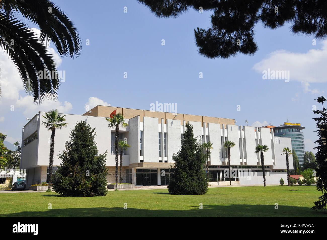 Tirana, Albania, Europe. - Stock Image