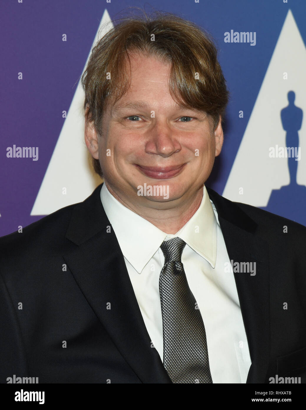 February 4, 2019 - DAN DELEEUW attends the 91st Oscars Nominees Luncheon at The Beverly Hilton Hotel in Beverly Hills, California. (Credit Image: © Billy Bennight/ZUMA Wire) - Stock Image