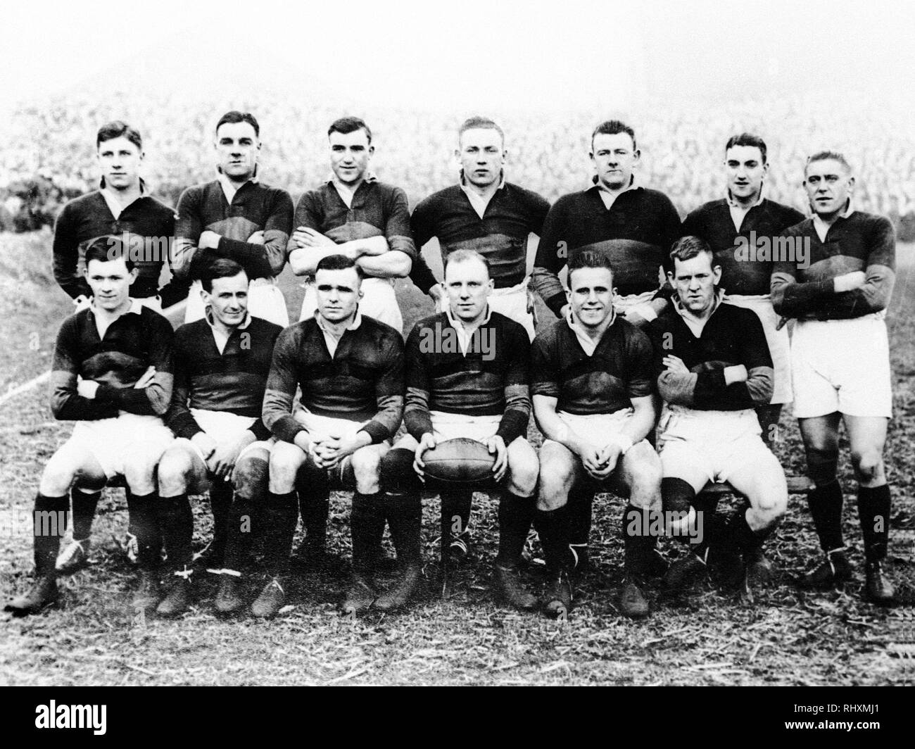 Wakefield Trinity Rugby Club in 1930 - Stock Image
