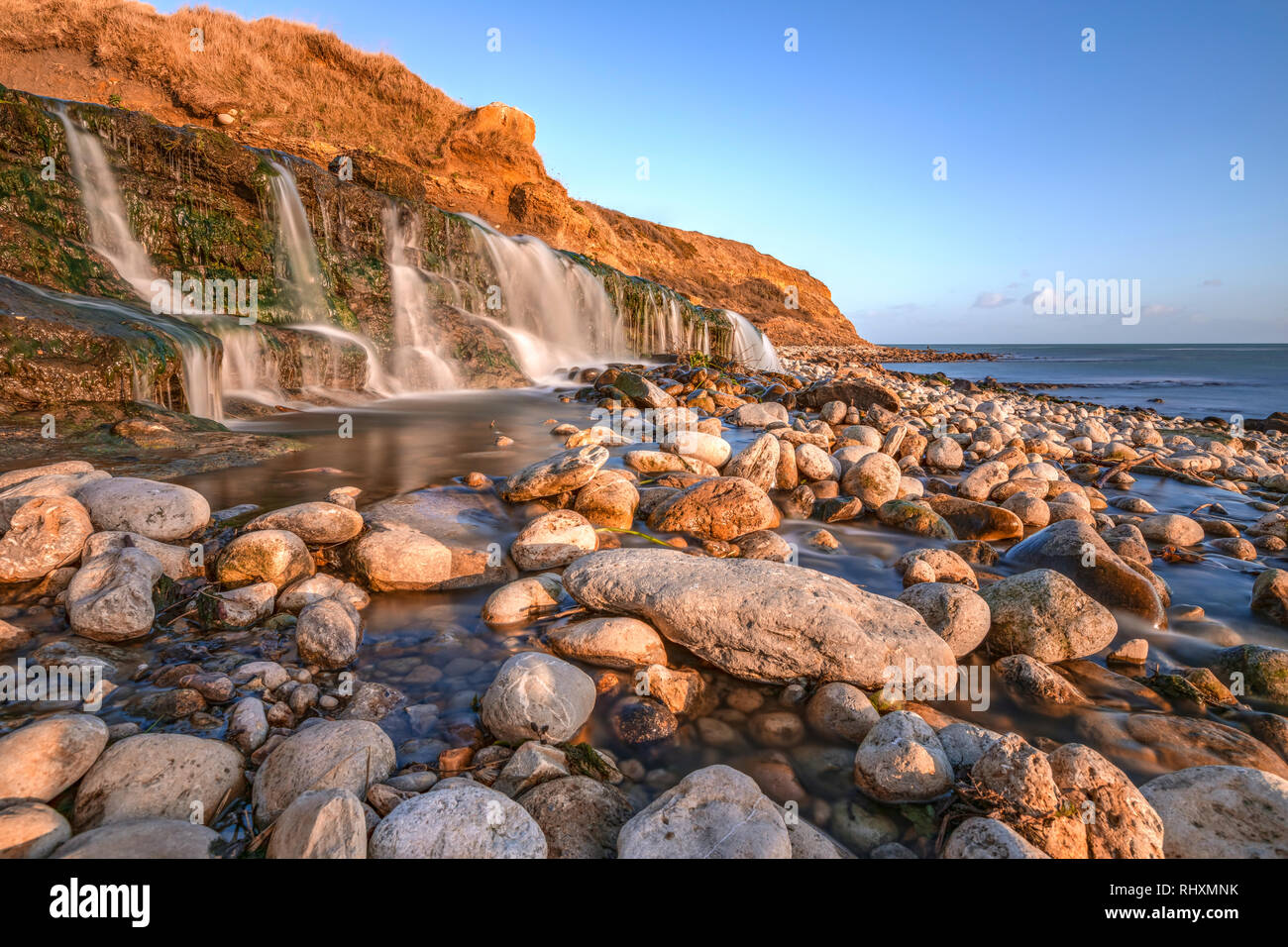 Osmington Mills,  Jurassic Coast, Weymouth, Dorset, England, United Kingdom - Stock Image