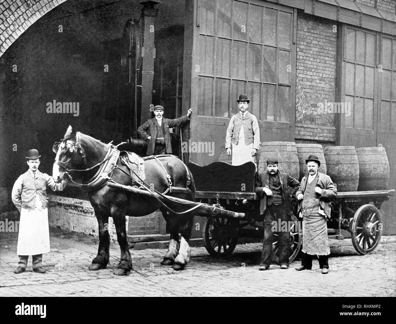 Brewers Dray Stock Photos & Brewers Dray Stock Images - Alamy