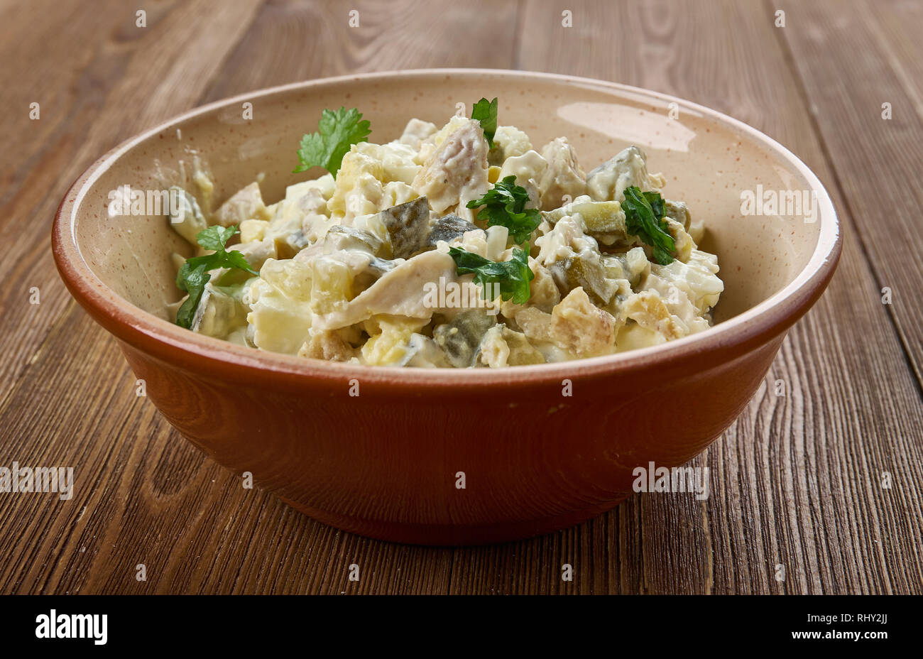 Zesty Chicken Salad Spread Or Appetizers Or Sandwiches Using