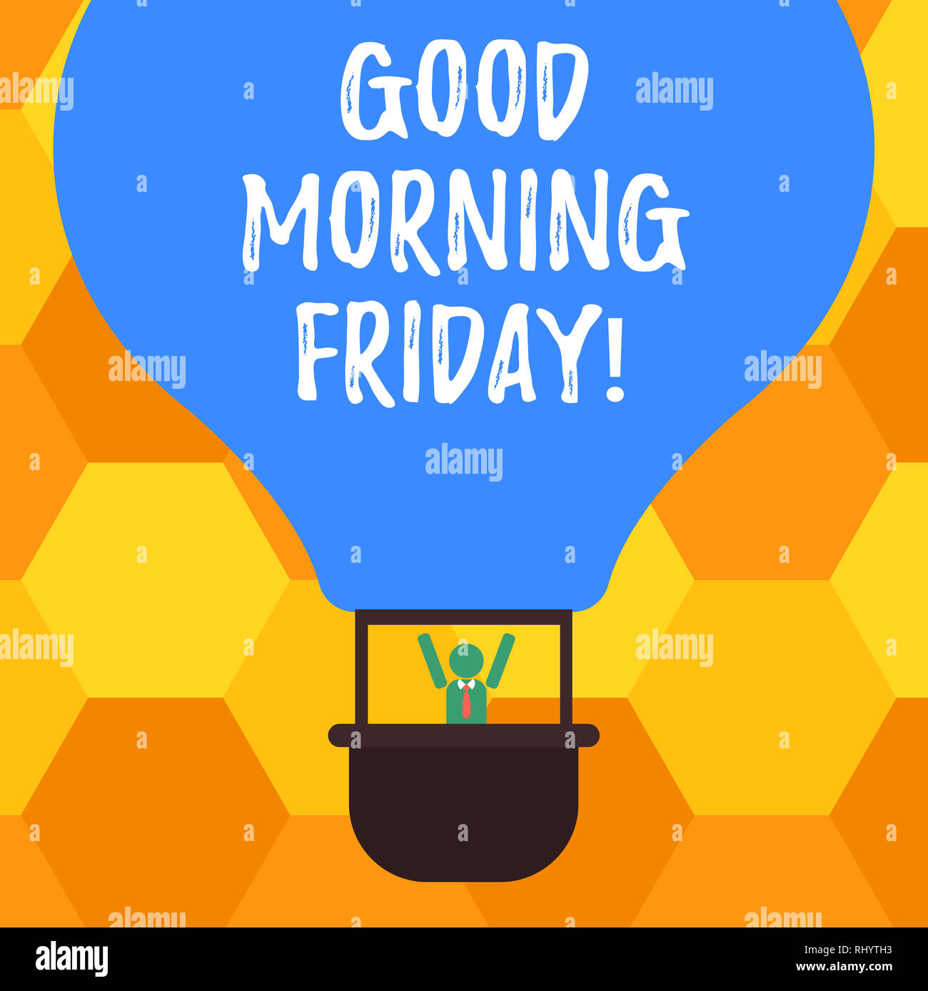 Handwriting Text Good Morning Friday Concept Meaning Greeting