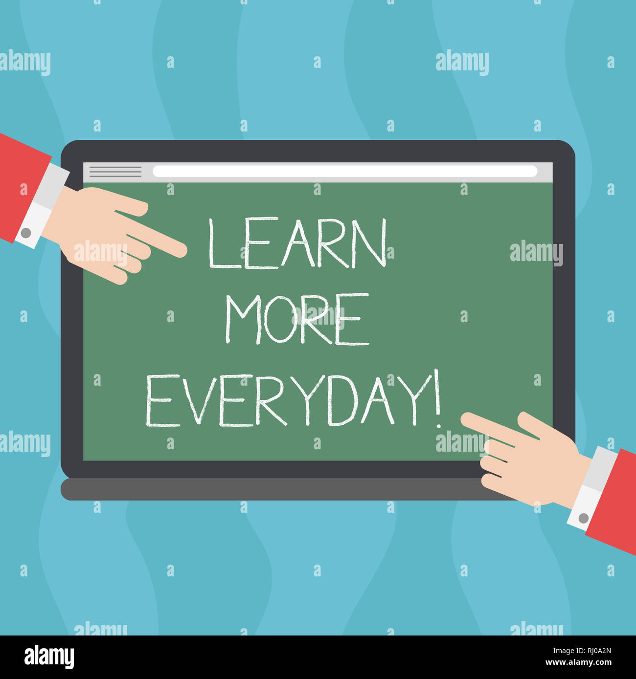 Conceptual hand writing showing Learn More Everyday