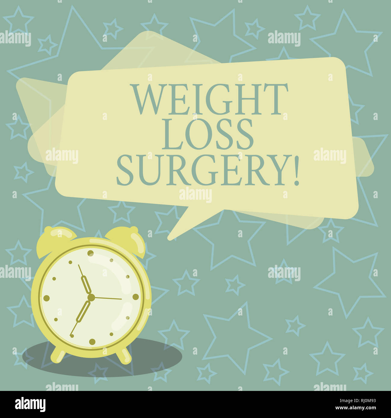 Handwriting Text Writing Weight Loss Surgery Concept Meaning Do On
