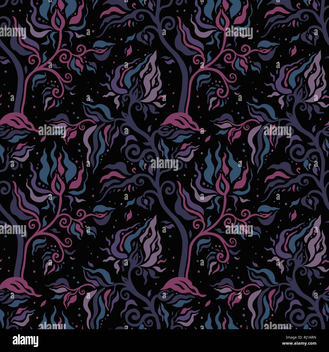 Hand Drawn luxury old fashioned floral ornament, Victorian vector background. Can be used for wallpaper, website background,