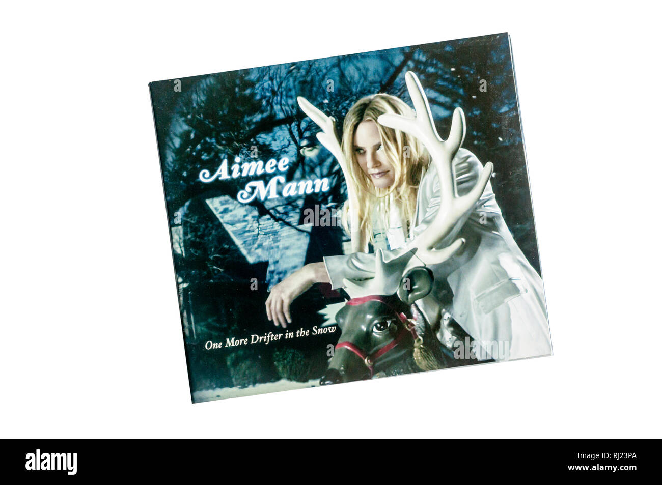 One More Drifter in the Snow was the sixth album by Aimee Mann and her first Christmas album.  Released in 2006. - Stock Image