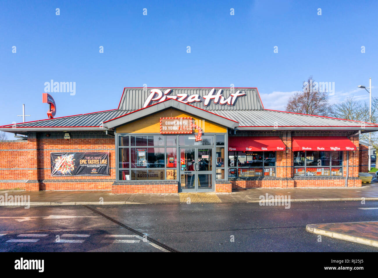 Pizza Hut England Stock Photos Pizza Hut England Stock