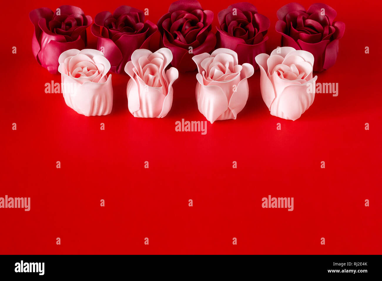 Gift Set Of Soap Valentines Day Spa Stock Photo Alamy