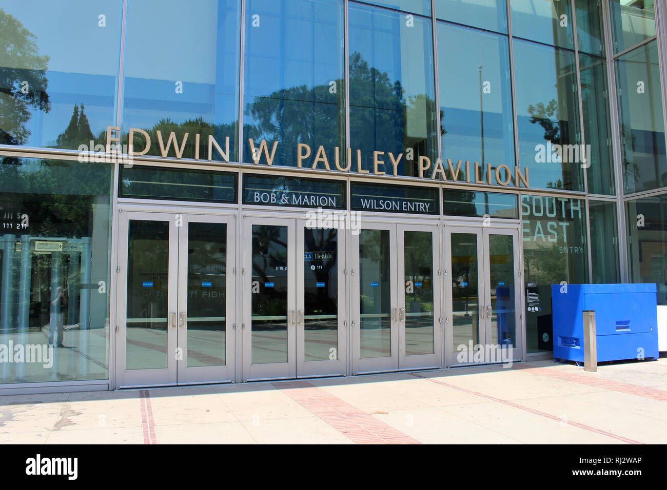 Los Angeles, California, USA. 27 July, 2017. Edwin W. Pauley Pavilion on the campus of The University of California, Los Angeles (UCLA). - Stock Image