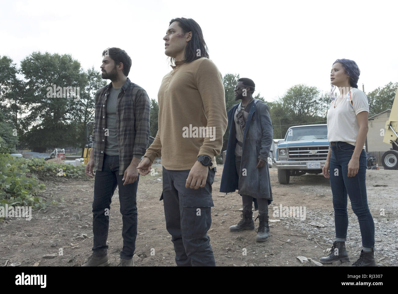 Sean Teale, Blair Redford, Michael Luwoye, Jamie Chung, 'The Gifted' Season 2 (2019)  Credit: Fox Broadcasting Co. / The Hollywood Archive - Stock Image