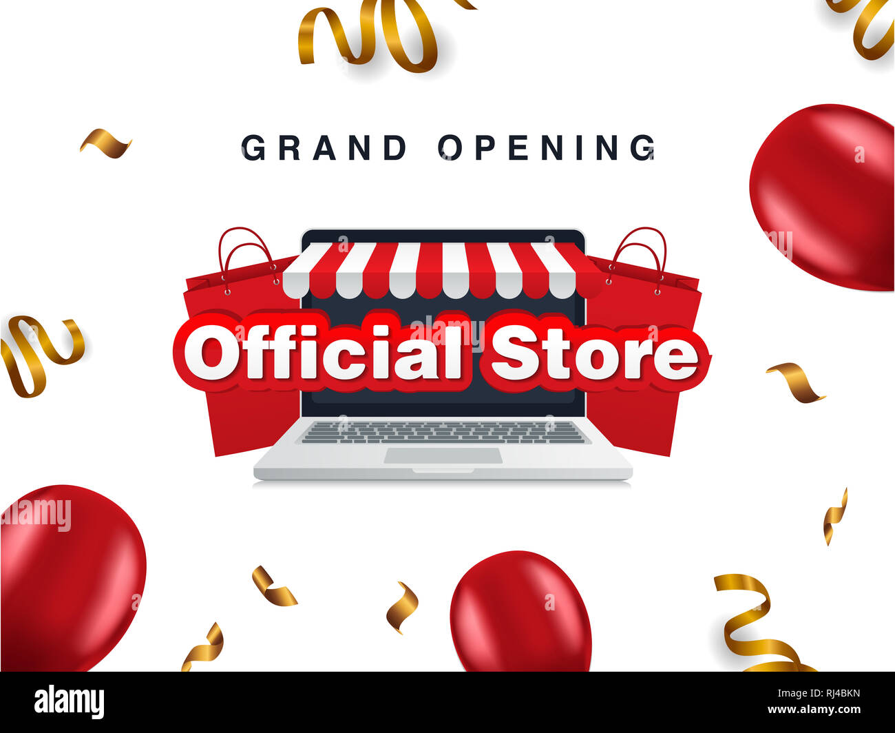 grand opening official store, sale bag, online shop