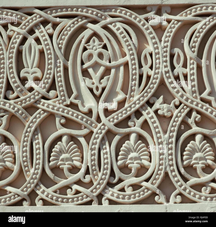 Muscat, Wandverzierung - Stock Image