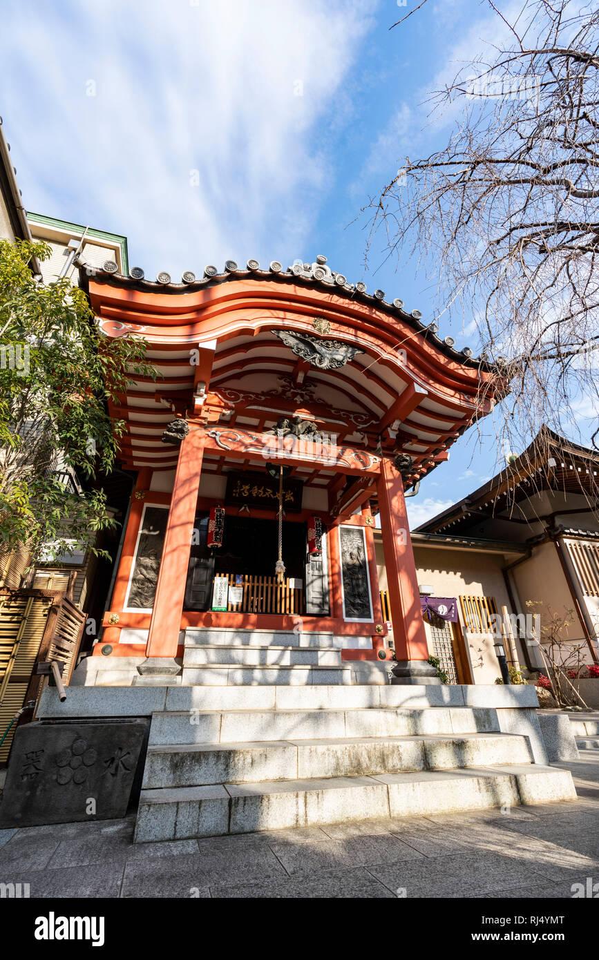 Chosen-in temple, Koto-Ku, Tokyo, Japan - Stock Image