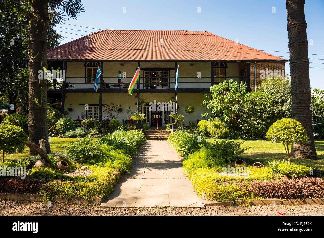 The historical Mandala house, Blantyre, Malawi Stock Photo