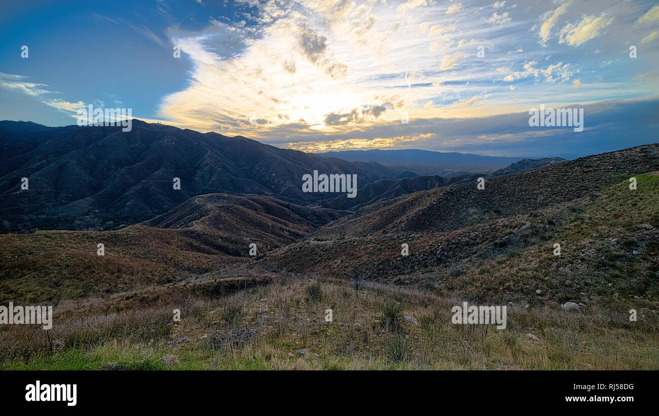 Landscape Out In Golden Valley Santa Clarita Ca Stock Photo Alamy