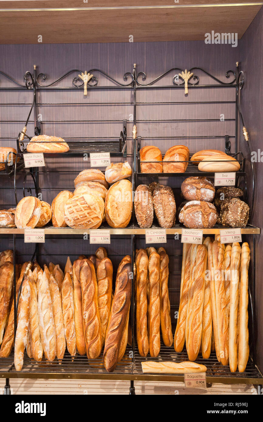 Französisches Baguette - Stock Image