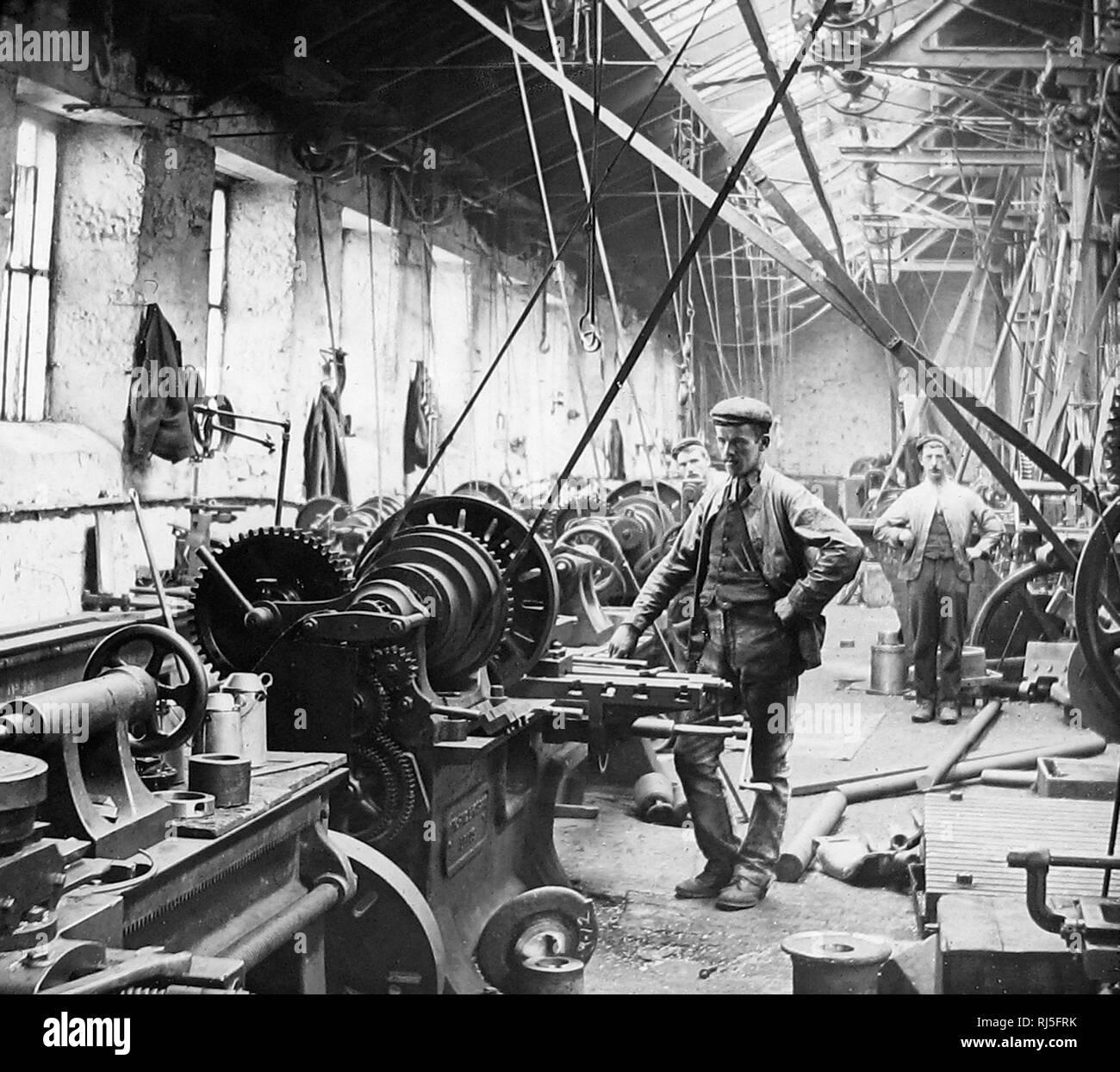 Ironworks Black And White Stock Photos Images Alamy
