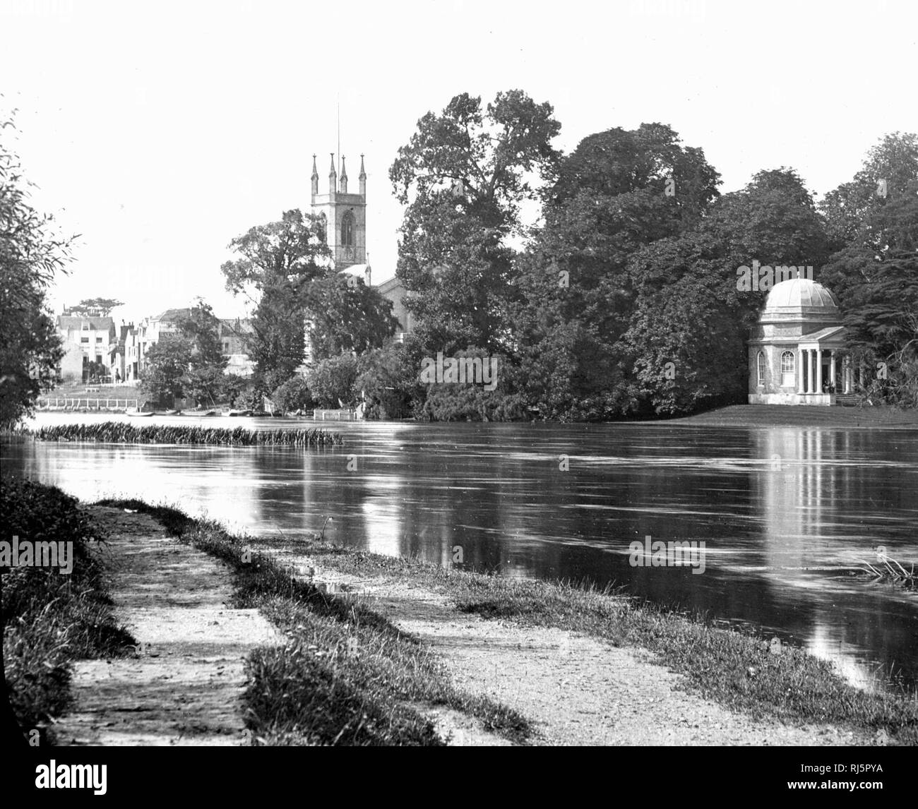 River Thames, Hampton - Stock Image