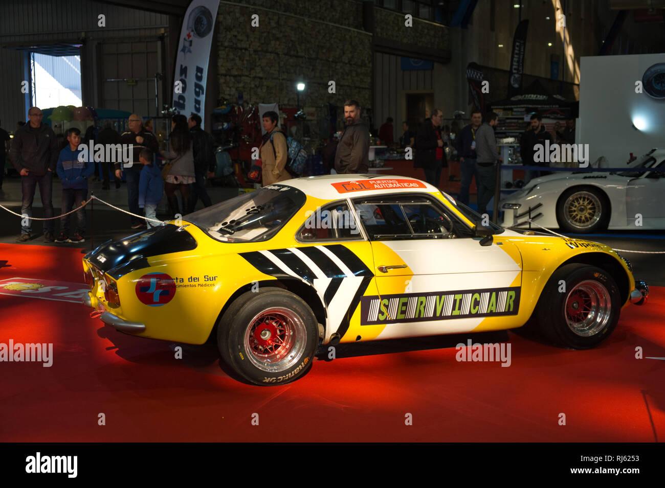 Renault Alpine A110. Retro Málaga 2019. Spain. Stock Photo