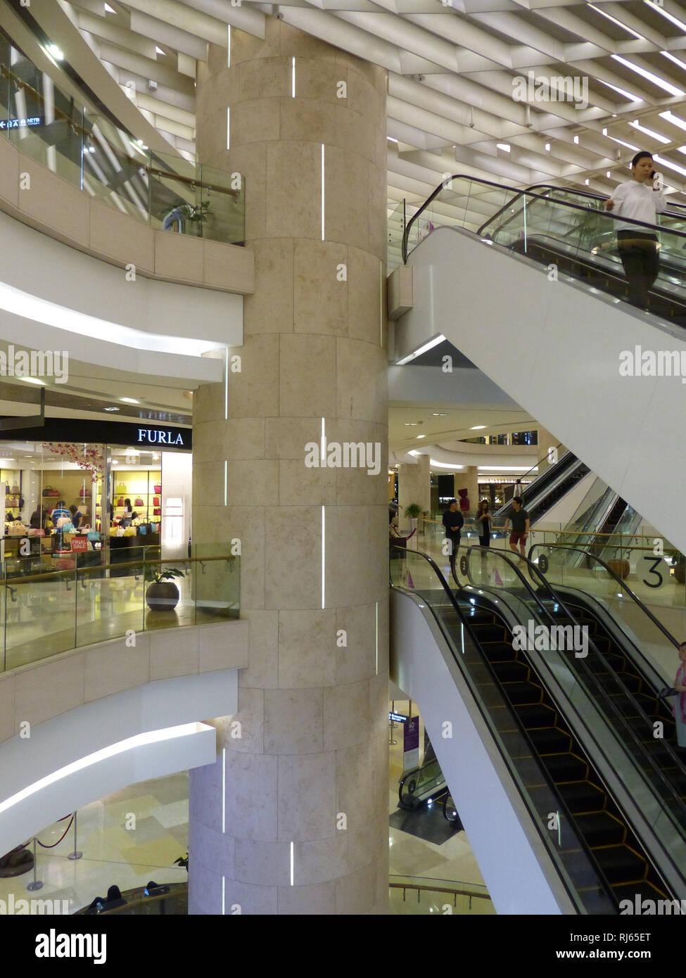ION Center Shopping Mall, Singapore Stock Photo