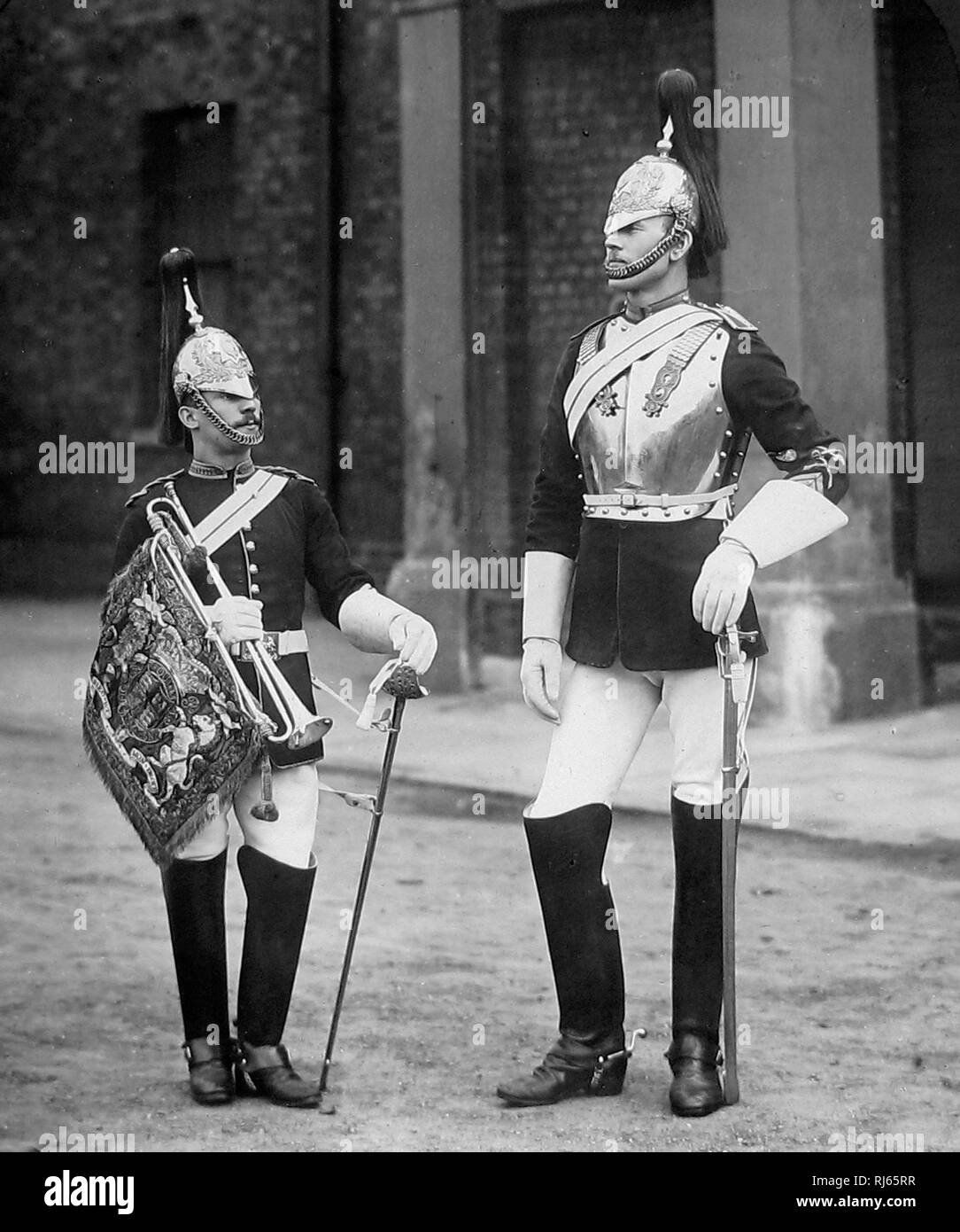 British Army Royal Horse Guards - Stock Image