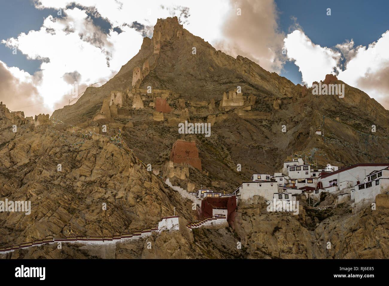 Tibet, Skekar Dzong - Stock Image