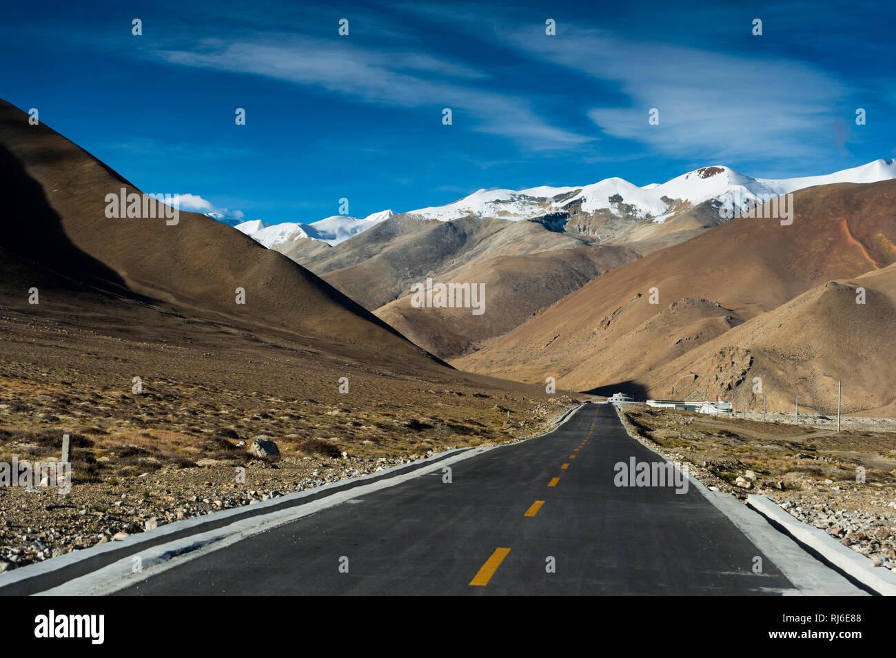 Tibet, das Himalaya, Gyvu La Pass - Stock Image
