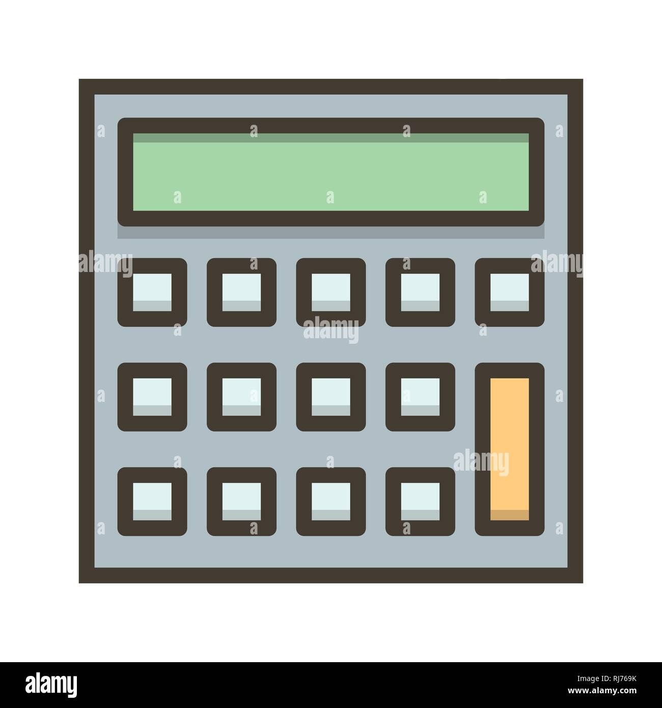 Vector Calculation Icon Stock Photo: 234957231 - Alamy