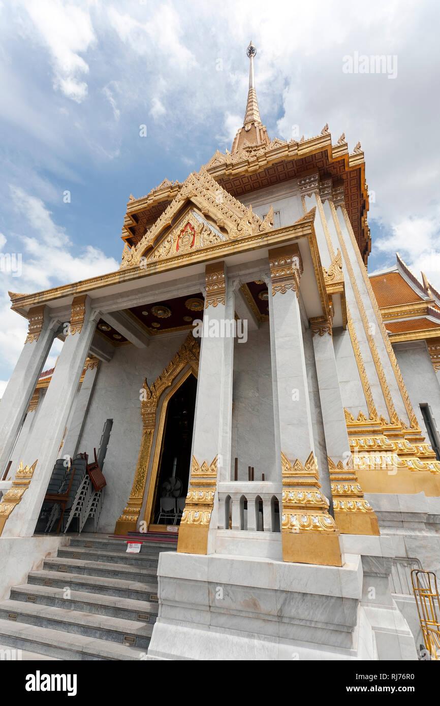 Tempel Wat Traimit, Bangkok, Thailand Stock Photo