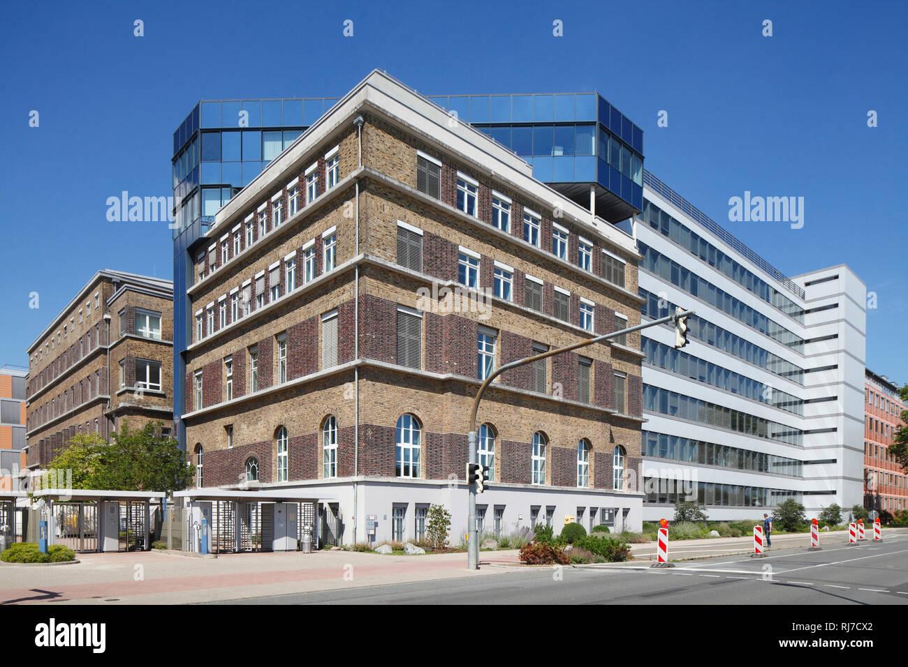 Firmenzentrale der Merck KGaA, Darmstadt, Hessen, Deutschland, Europa - Stock Image