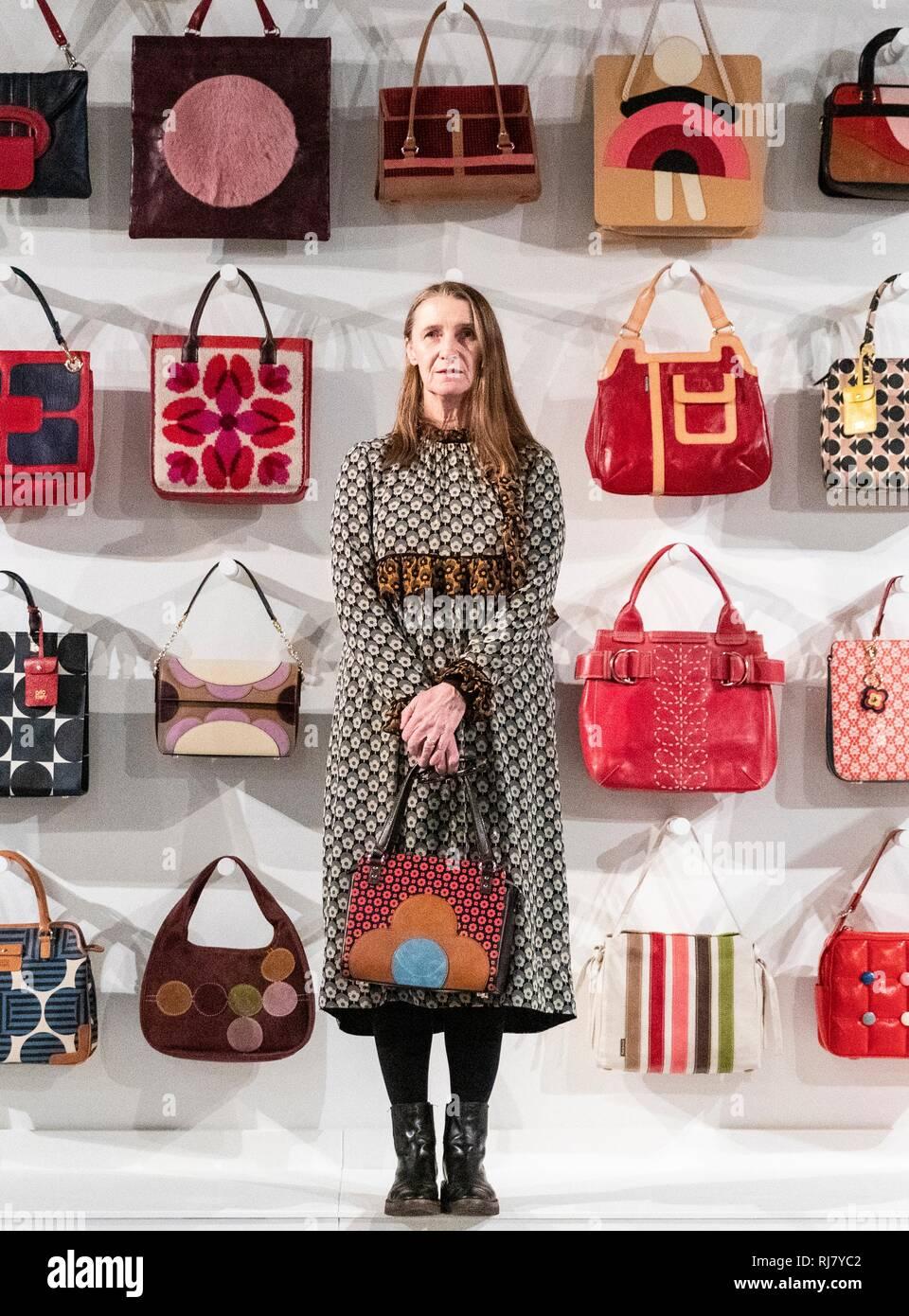 Edinburgh, UK. 05th Feb, 2019. Fashion designer, Orla Kiely