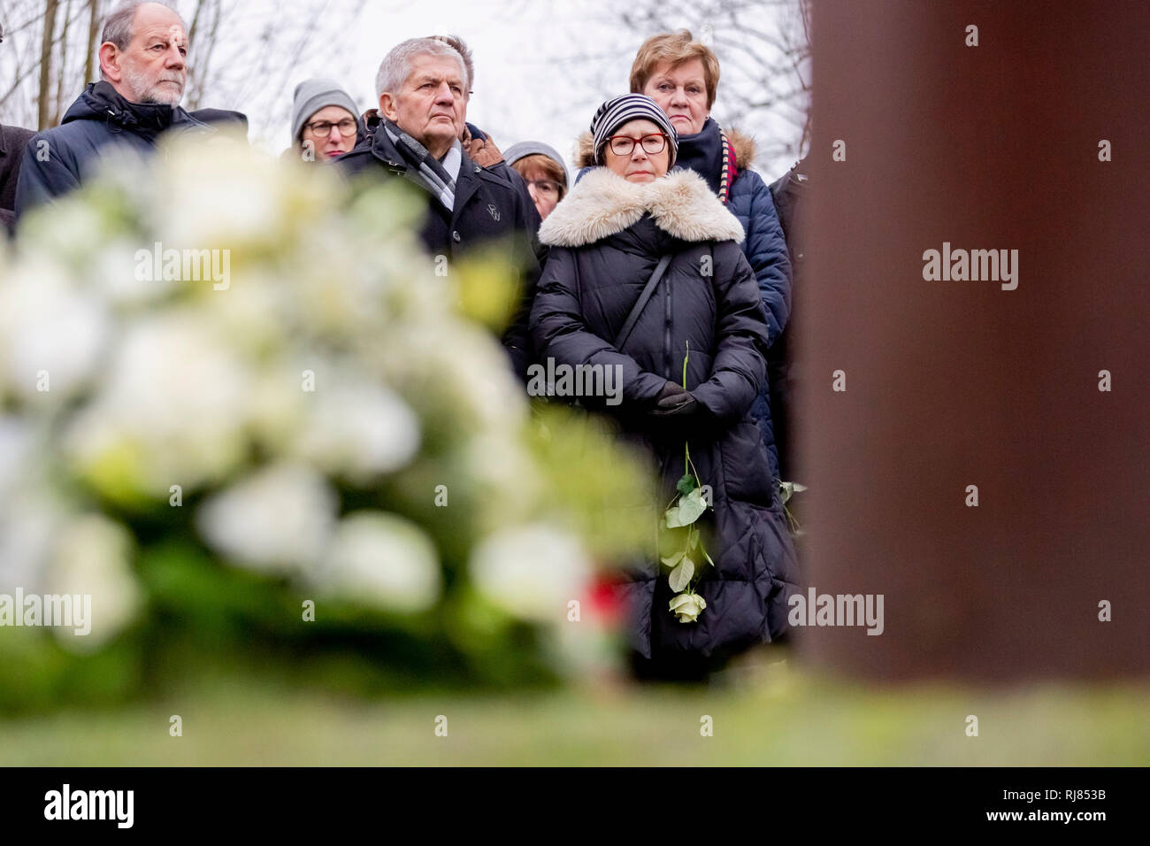 Berlin, Germany  05th Feb, 2019  Karin Gueffroy (r), mother of Chris
