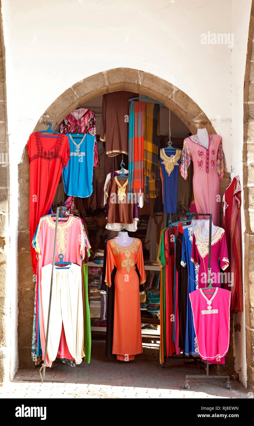 Casablanca, Kleider, Medina, Marokko - Stock Image