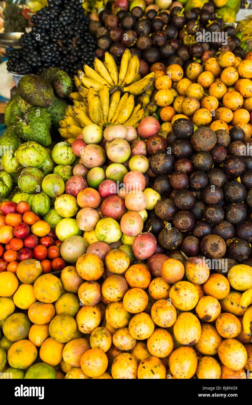 Markt, Früchte - Stock Image